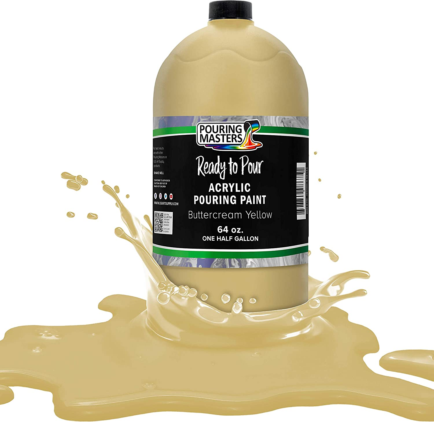 Pouring Masters Buttercream El Paso Mall Yellow Pour Reservation to Ready Acrylic