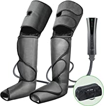 FIT KING Foot and Leg Massager for Circulation and Relaxation with Hand-held Controller 3 Modes 3 Intensities FT-012A