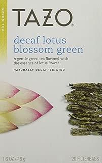 Tazo Decaf Lotus Blossom Green Tea, 20 ct