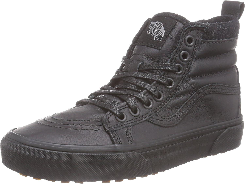 Vans Black Leather SK8-Hi MTE