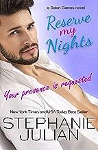 Reserve My Nights: a Salon Games novel (English Edition)