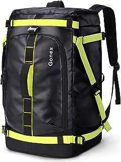 comprar comparacion Gonex Mochilas para esquiar 50L Bolsa para botas de esquí con compartimento para casco y correas de mochila Bolsas para es...