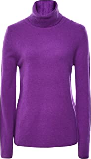 Absolut Cashmere Women's Cashmere Nina Roll Neck Jumper Purple
