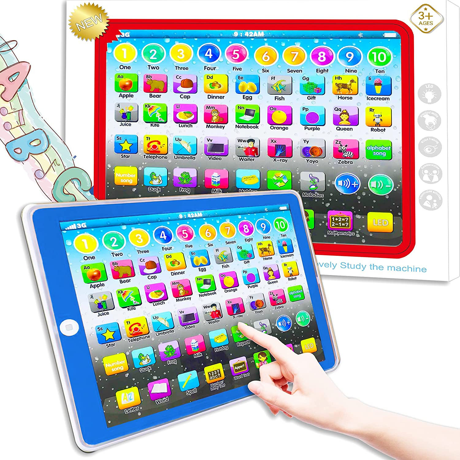 Learning Manufacturer OFFicial shop Tablet Toy Baby Child Education Preschool Inexpensive Early