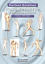 [Allpose Book] 1_Standing poses(a) (for comic,cartoon,manga,anime,illustration human body pose drawing techniques.) (Allpose Book Drawing Pose Resource : 24 Books Series)