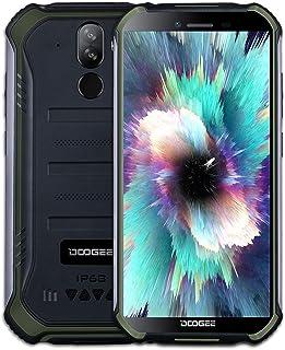 Doogee S40 Pro Smartphone 4G, ontgrendeld, 64 GB + 4 GB, display 5,45 inch, Dual Nano SIM, 4650 mAh, Android 10.0, groen...