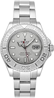 Yacht-Master Mechanical (Automatic) Platinun Dial Mens Watch 16622 (Certified Pre-Owned)