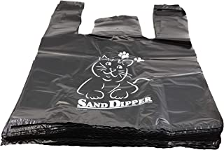 Sand Dipper Cat Litter Waste Bags | Strong Thick Odor Sealing | 75 Bags