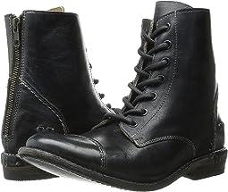 Black Rustic Leather
