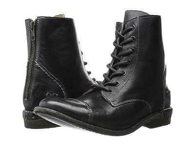 Bed Stu Laurel (Black Rustic Leather) Women