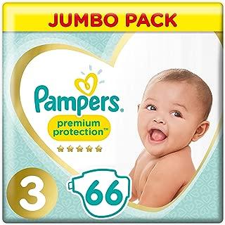 Tama/ño 3/ /Jumbo de protecci/ón Pack /66/Pa/ñales Pampers/