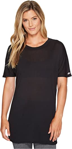 ALO - Dreamer Short Sleeve Top