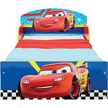 170 x 77 x 54 cm Rosso Worlds Apart Disney Cars Letto Junior Metallo e plastica