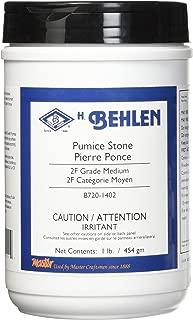 Pumice Stone, Coarse (2F), 1 lb.