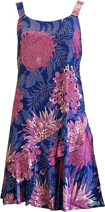 Flower Floral Tie Dye Star Design Hippie Maxi Spaghetti Dress Summer S M L Sun
