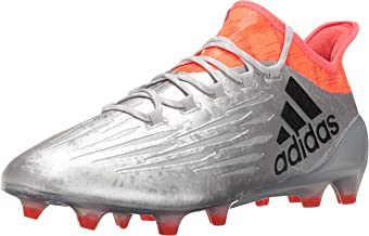 adidas X 16.1 Firm Ground Cleats [SILVMT/Cblack/SOLRED] (13.5)
