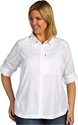 Plus Size Silver Ridge™ L/S Shirt