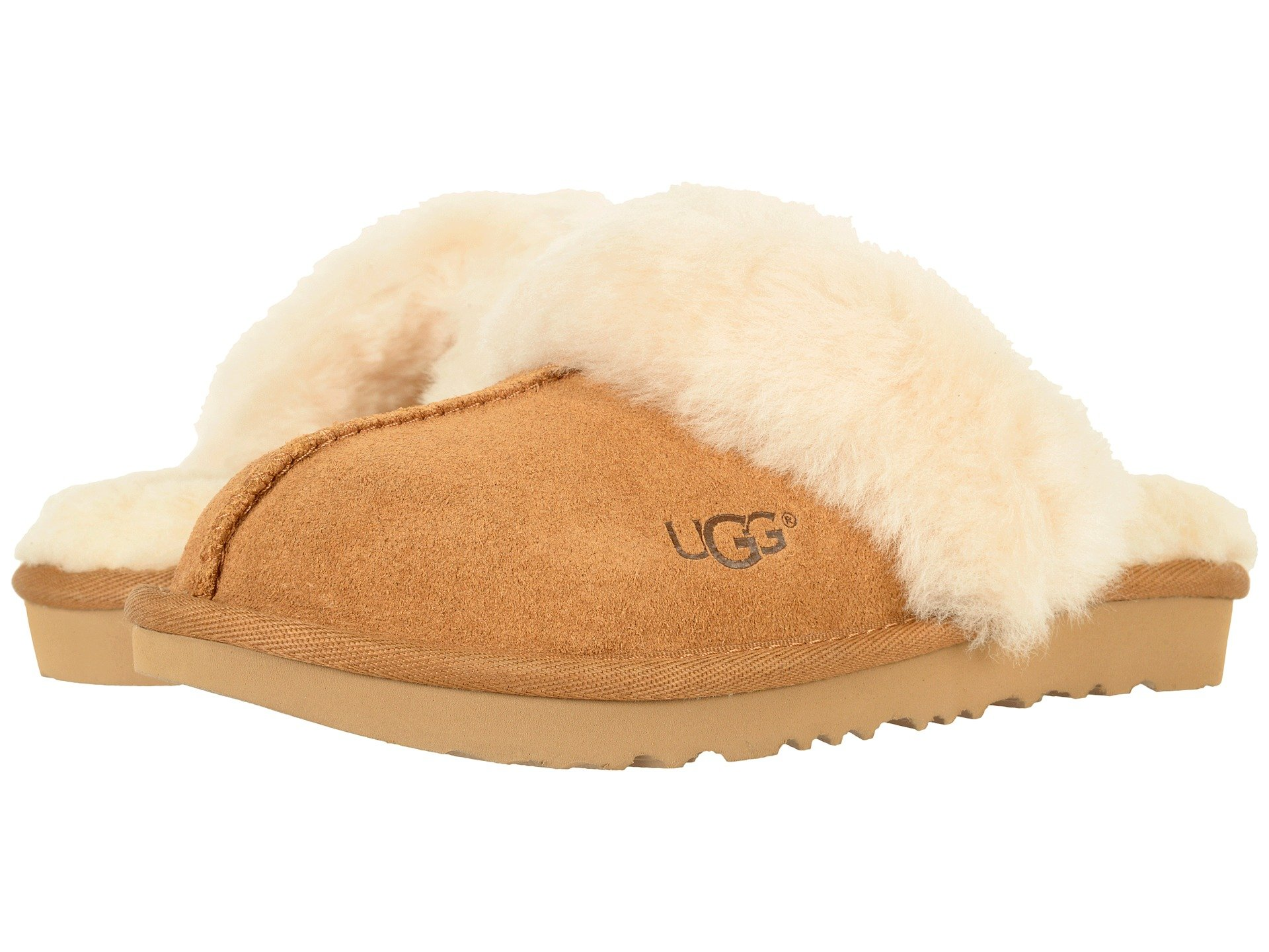 2ced286e8ee Girls UGG Kids Slippers + FREE SHIPPING