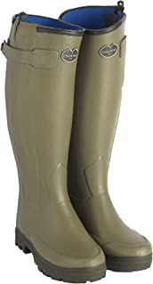 Le Chameau Women's Chasseur Neoprene Lined Boots Vert Vierzon Green