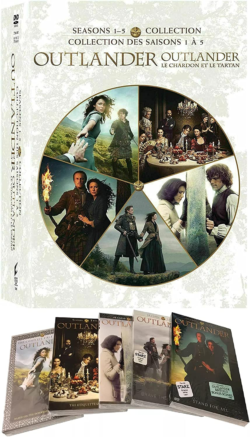 Outlander: Store The Complete Series Season 1-5 (25 DVD Se Disc 5% OFF -