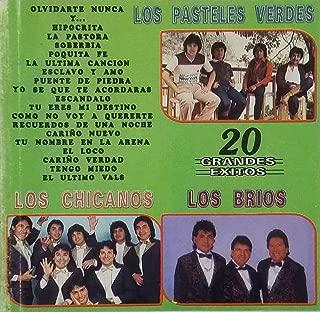 20 GRANDES EXITOS - LOS PASTELES VERDES-LOS CHICANOS-LOS BRIOS