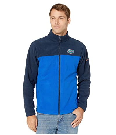 Columbia College Florida Gators CLG Flankertm III Fleece Jacket (Collegiate Navy/Azul) Men