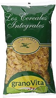 Granovita Corn Flakes sin Azucar Cereales - 350 gr - [Pack de 4]