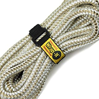 Wrap-It Super-Stretch Storage Straps (Assorted 8 Pack) - Elastic Hook and Loop Cinch Strap Organizer for Extension Cords, Hoses, Rope, Tools and Cables - Home, Garage, Shop, RV and Boat Organization