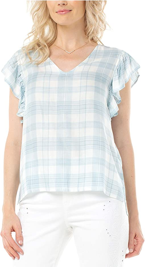 Blue/White Plaid