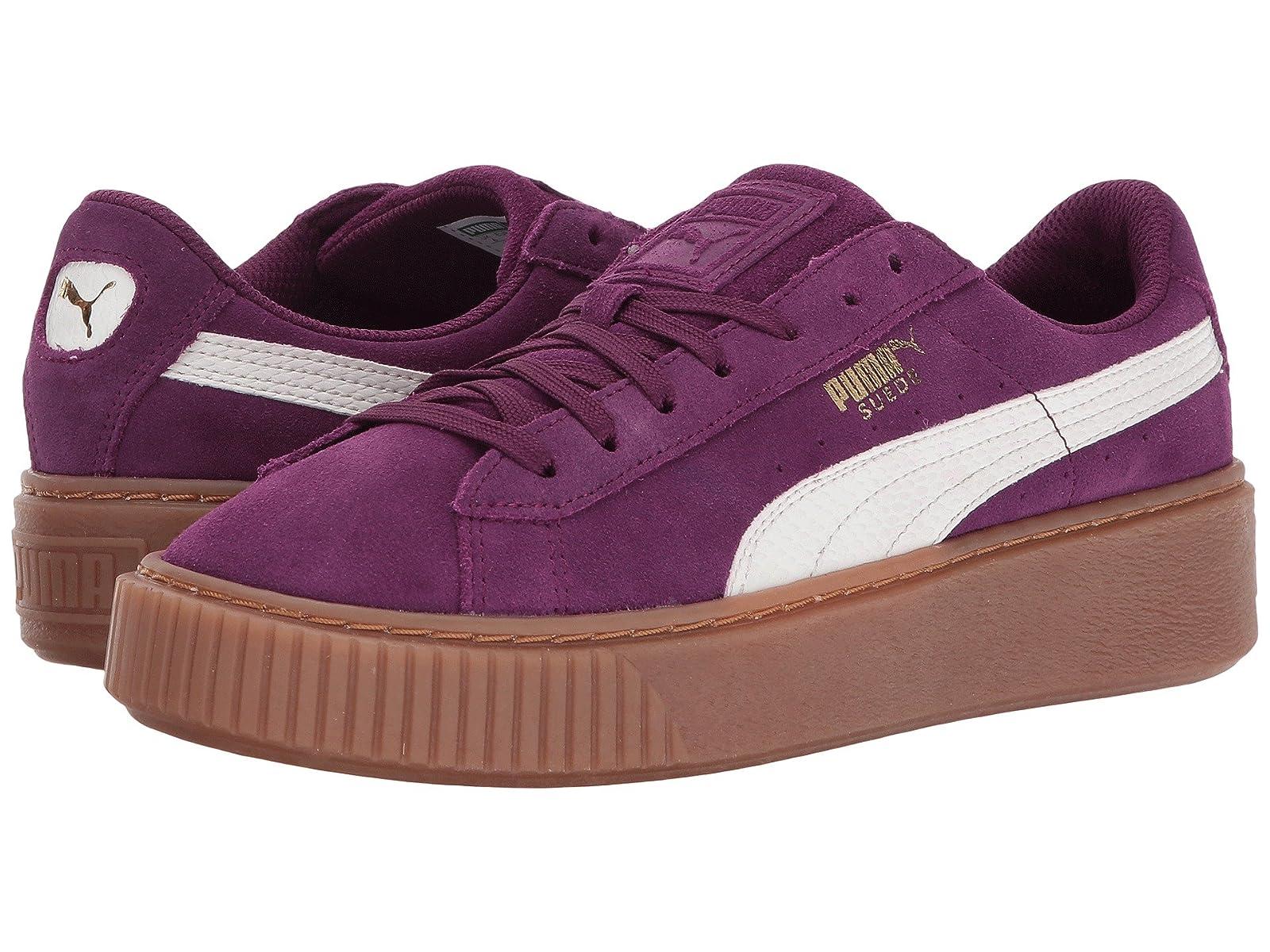 Puma Kids Suede Platform SNK (Big Kid)Cheap and distinctive eye-catching shoes