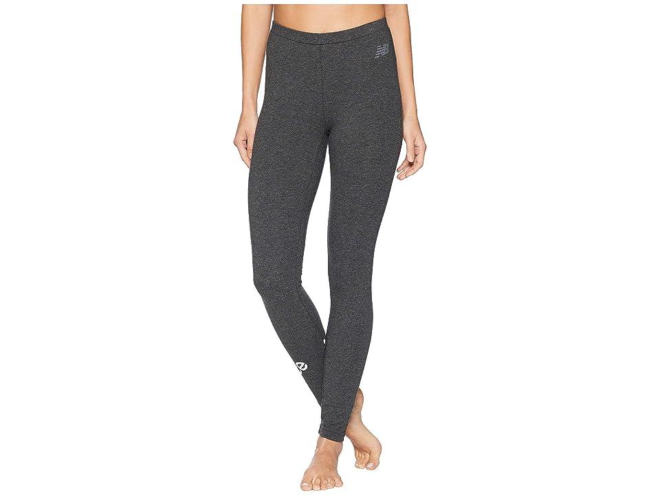 New Balance Essentials Leggings (Heather Charcoal) Women