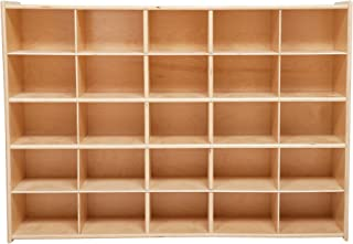 Pack of 12 Wood Designs 16129-718 Cubby Storage with Baskets