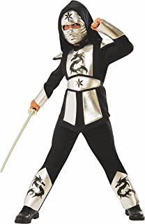 Rubie's Silver DRAGON Ninja Child's Costume, Small