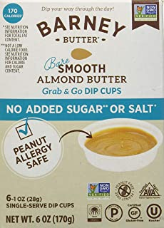 Barney Butter    Dip Cup Bare Smooth, 1 oz