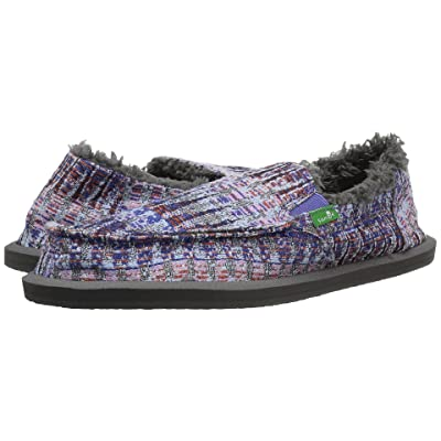 Sanuk Kids Lil Donna Ice Chill (Little Kid/Big Kid) (Dusty Peri Multi Icicle) Girl