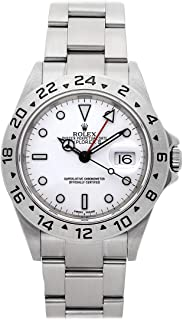 Explorer II Mechanical (Automatic) White Dial Mens Watch 16570 (Certified Pre-Owned)