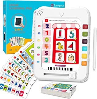 Sanyipace Educational Learning Toys for 3,4,5,6 Year Old Boys and Girls Math Gifts Logic Match Games 2 in 1 Drawing &Think...