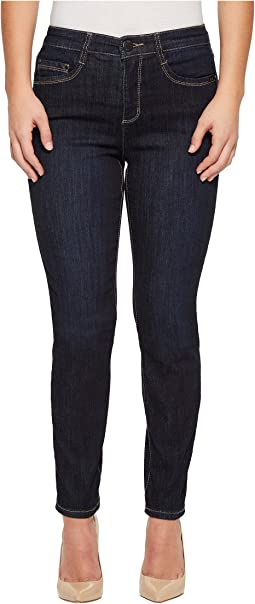 Petite Coolmax Denim Suzanne Slim Leg in Twilight