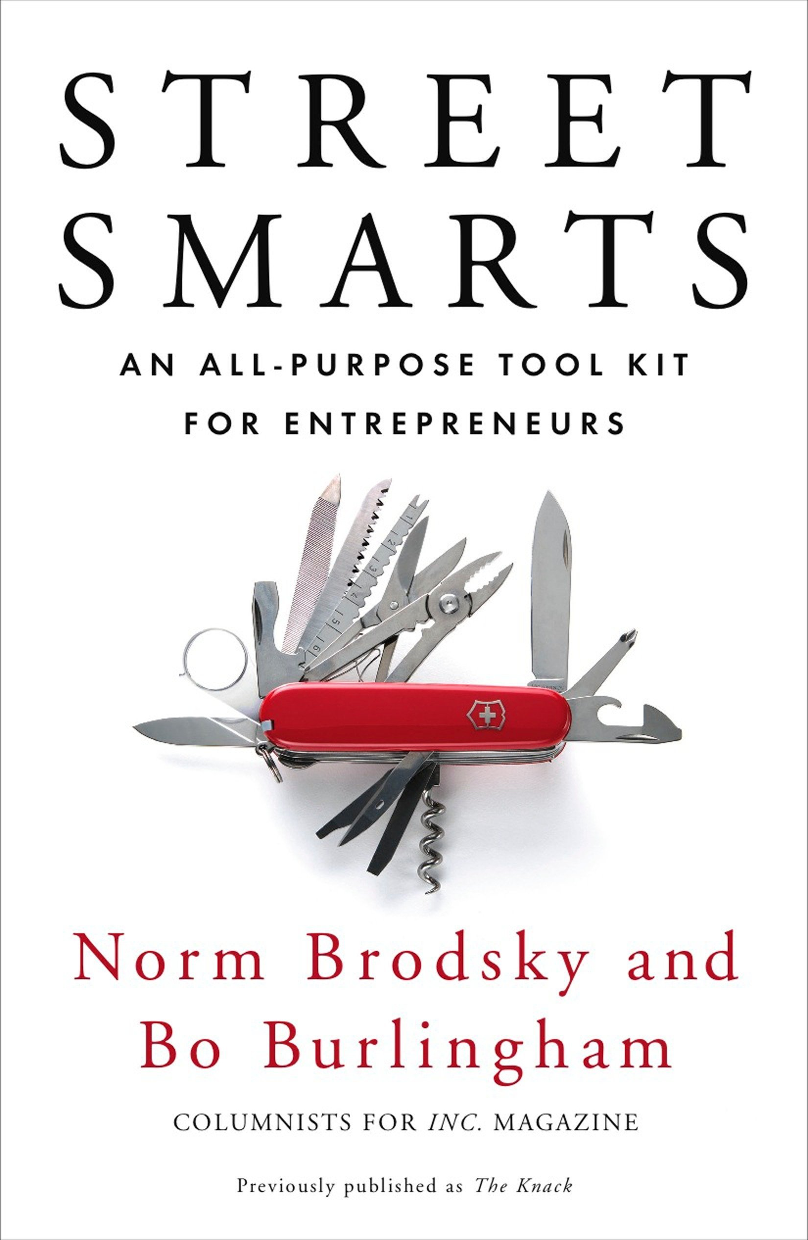 Image OfStreet Smarts: An All-Purpose Tool Kit For Entrepreneurs