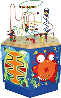 Hape Coral Reef Wooden Activity Center Table