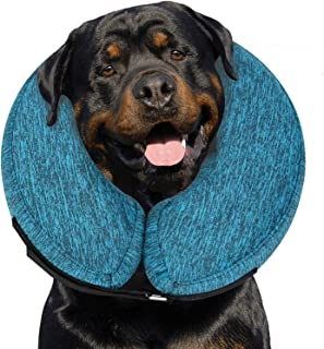MIDOG Pet Inflatable Collar for After Surgery,Soft Protective Recovery Collar Cone for Dogs and Cats to Prevent Pets from ...