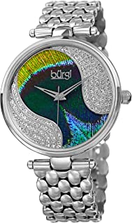 Burgi Casual Watch For Women Analog Stainless Steel - BUR162SS