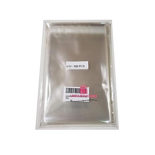 for 6.5x6.5 Card Resealable Cellophane Cello Poly Bags 500- 6 11//16 x 6 9//16