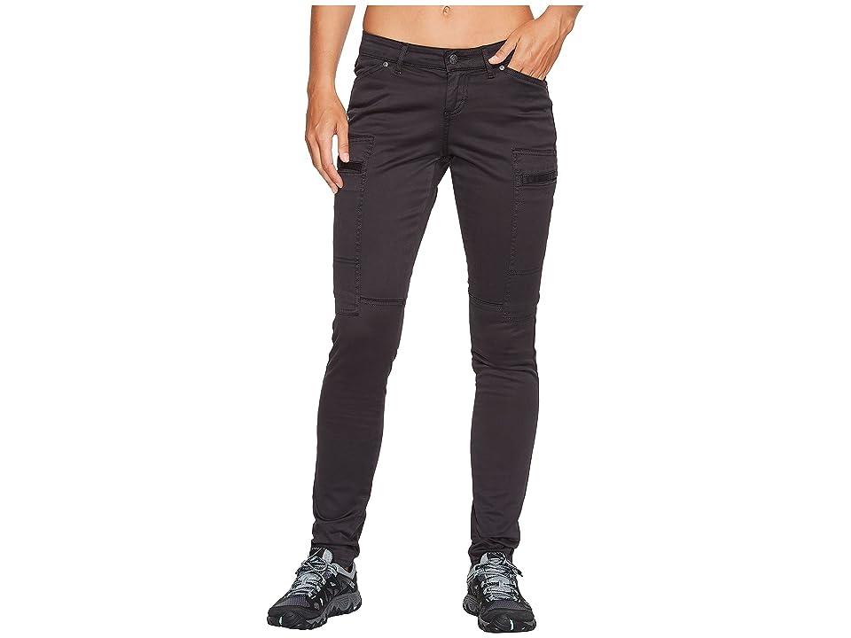 Prana Louisa Skinny Leg Pants (Charcoal) Women