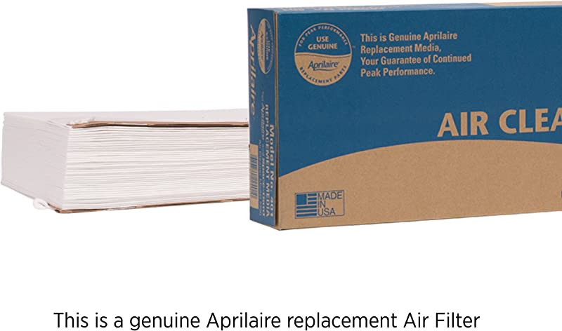 Aprilaire 401 Replacement Filter For Aprilaire Whole House Air Purifier Model 2400 Space Gard 2400 MERV 10 Pack Of 1