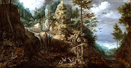 Roelant Savery Landscape with The Temptation of Saint Anthony J. Paul Getty Museum - Los Angeles 30