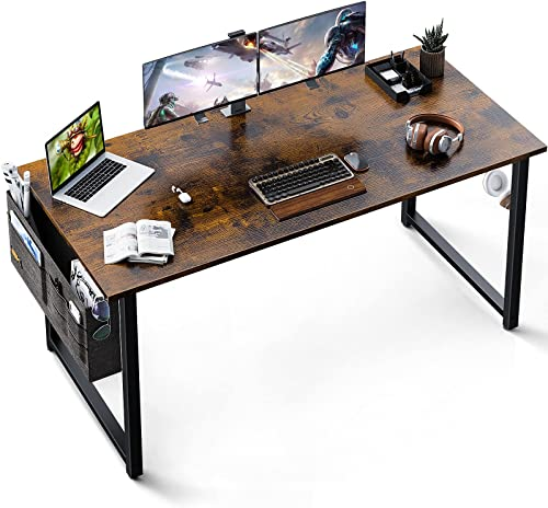 new arrival Desk 63 high quality Espresso online sale Gray outlet online sale