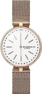 Skagen Connected Women's Signatur T-Bar Stainless Steel Mesh Hybrid Smartwatch