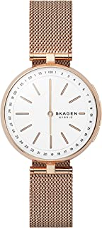 Skagen Signature White Stainless Steel Hybrid Smartwatch