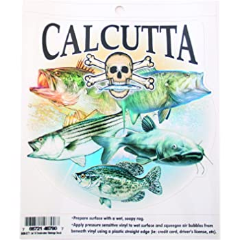 Calcutta Grand Slam Decal 4-inch by 5-inch